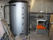 25KW Gasifying Log Boiler with 1500Lt Buffer storage tank