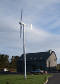 A 6KW Horizontal Axis Wind Turbine